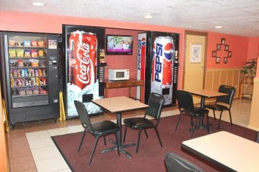 Soda Snack Area-Bays Inn & Suites Baytown