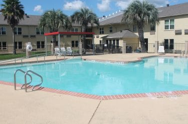 Largest Pool in Baytown-Bays Inn & Suites Baytown
